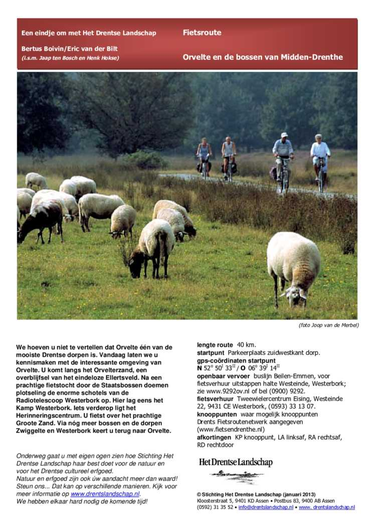 Orvelte En De Bossen Van Midden Drenthe Encyclopedie Drenthe